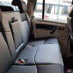 Mahindra Scorpio 2017 facelift rear seats