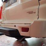 Mahindra Scorpio 2017 facelift rear step