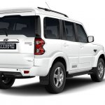 Mahindra Scorpio 2017 facelift right rear three quarters