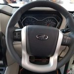 Mahindra Scorpio 2017 facelift steering wheel