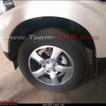 Mahindra Scorpio facelift alloy wheel