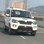 Mahindra Scorpio facelift front angle