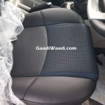 Mahindra Scorpio facelift front seat upholstery