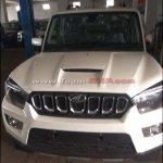 Mahindra Scorpio facelift grille