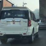 Mahindra Scorpio facelift rear
