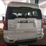 Mahindra Scorpio facelift tailgate