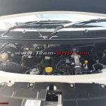 Mahindra TUV300 Plus engine bay spy shot