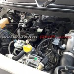 Mahindra TUV300 Plus engine spy shot