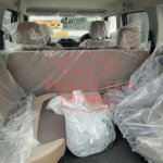 Mahindra TUV300 Plus jump seats spy shot