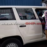 Mahindra TUV300 Plus right side spy shot