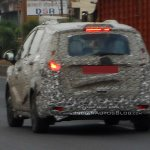 Mahindra U321 MPV spied rear three quarters