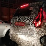 Mahindra U321 (S321) MPV spy picture tail light