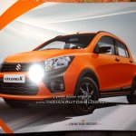 Maruti Celerio X front three quarters leaked brochure
