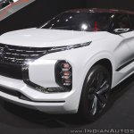 Mitsubishi Ground Tourer PHEV Concept at Thai Motor Expo 2017 front three quarters view