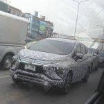 Mitsubishi Xpander front three quarters Thailand spy shot