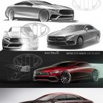 Next Gen Mercedes CLS rendering