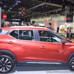 Nissan Kicks at Dubai Motor Show 2017 side