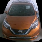 Nissan Note e-Power front spy shot India