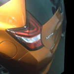 Nissan Note e-Power tail lamp spy shot India