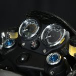 Norton Dominator press shot instrument cluster