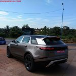 Range Rover Velar First Edition rear three quarters spy shot India