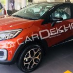 Renault Captur front three quarters India dealership