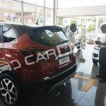 Renault Captur rear three quarters India dealership