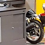 Royal Enfield 650 Cafe racer spied