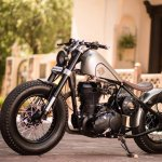Royal Enfield Classic 500 Matilda by Rajputana Customs left side