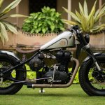 Royal Enfield Classic 500 Matilda by Rajputana Customs right side