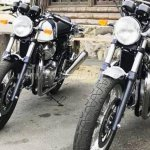 Royal Enfield Interceptor INT 650 and Royal Enfield Continental GT 650 spotted in US