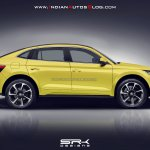 Skoda Kodiaq GT (Skoda Kodiaq Coupe) profile rendering