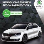 Skoda Rapid Edition X advert