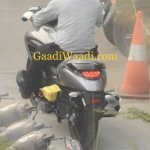 Suzuki Intruder 150 Spied rear left quarter closeup