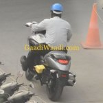 Suzuki Intruder 150 Spied rear left quarter