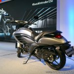 Suzuki Intruder 150 rear angle view