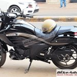 Suzuki Intruder 150 spotted left side