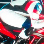 TVS Apache RR 310 S brochure scan red right side