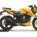 TVS Apache RTR 200 Fi4V EFI press shot