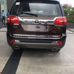 Tata Hexa Downtown special edition rear