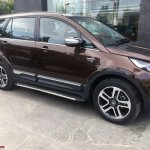 Tata Hexa Downtown special edition right side