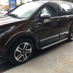 Tata Hexa Downtown special edition side angle