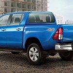 Toyota hilux Revo facelift double cab rear three quarters