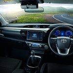 Toyota hilux Revo facelift smart cab dashboard