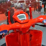 Vespa 946 RED instrument console at 2017 Thai Motor Expo