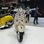 Vespa Primavera Touring Edition front at 2017 Thai Motor Expo