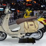 Vespa Primavera Touring Edition left side at 2017 Thai Motor Expo