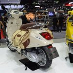 Vespa Primavera Touring Edition rear left quarter at 2017 Thai Motor Expo