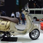 Vespa Primavera Touring Edition right side at 2017 Thai Motor Expo
