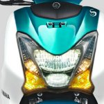 Yamaha Mio S Green headlight